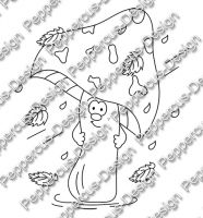 Digi Stamp - Sturm Pilz - s/w Version