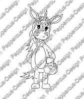 Digi Stamp - Ellie Eselhorn - s/w Version