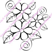Digi Stamp - Blume 2 - s/w Version