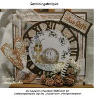 Digi Stamp - Countdown Schnecke - s/w Version