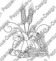 Digi Stamp - Ernte - s/w Version