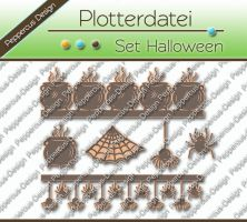 Plotterdatei - Set Halloween
