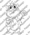 Digi Stamp - Nerd Meerie - s/w Version