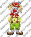 Digi Stamp - Clown - colorierte Version