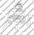 Digi Stamp - Auto Meerie - s/w Version