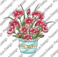 Digi Stamp - Blumen Arrangement 2 - colorierte Version