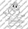 Digi Stamp - Hula Meerie - s/w Version