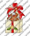 Digi Stamp - Lebkuchenmann in Box - colorierte Version