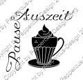 Digi Stamp Text - Auszeit - Pause