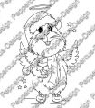 Digi Stamp - Engel Meerie - s/w Version